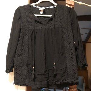 Boho tassels shirt